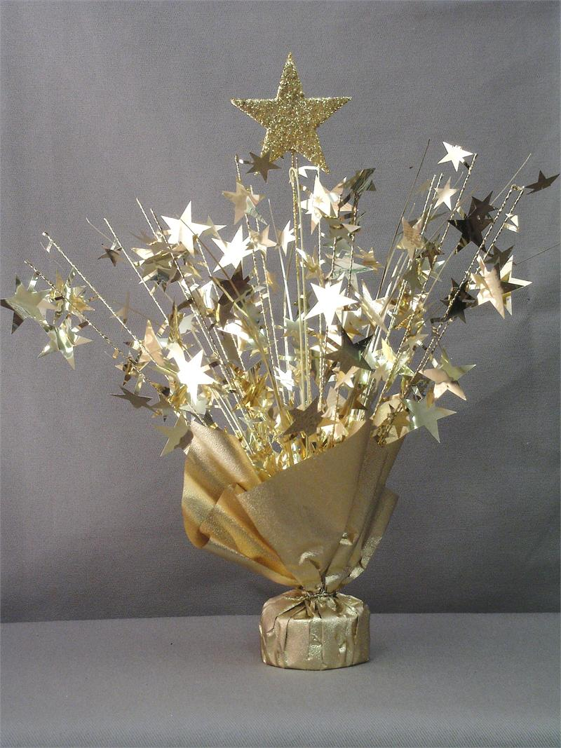 gold star table centerpiece doolins
