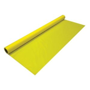 Harvest Yellow Banquet Tablecover Roll